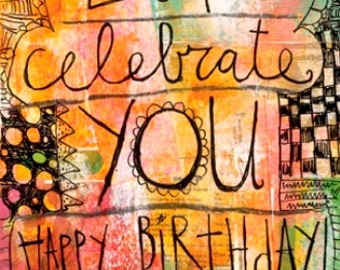 Celebrate You, Card