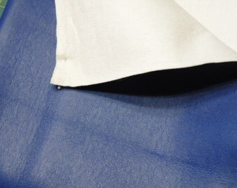 Royal Blue faux leather vinyl fabric