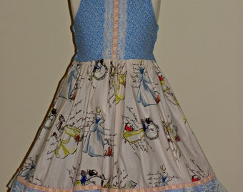 Princess Dress size 4 or 5 Finished and Ready to Ship