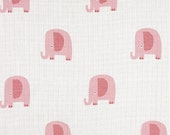 Double Gauze, Elephant Pink, Designer by Riley Blake, Sold by the Yard