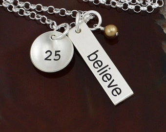 Believe - Weight Loss Necklace