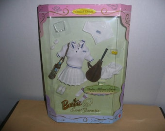 Barbie Millicent Roberts Collection, Barbie Court Favorite, No. 17659 - Barbie Tennis Outfit NRFB