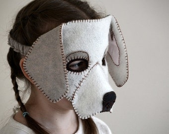 Dog Mask PDF Pattern