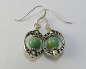 Amazonite Earrings/Gemstone Earrings/Silver Earrings/Dangle Earrings