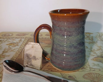 Pottery Mug in Opal Glaze 10 ounce