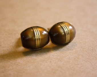 Anson Root Beer Cuff Links
