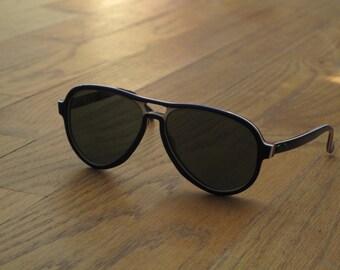 vintage Ray Ban Vagabond aviator sunglasses