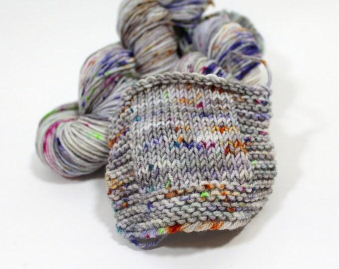 Hand dyed Yarn Superwash Merino Amanda Worsted 'Paint' Swoon Fibers OOK