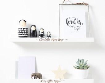 Personalised Children's Shelf