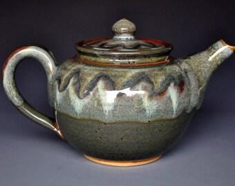 Alpine Pottery Teapot Ceramic Teapot Stoneware Teapot A