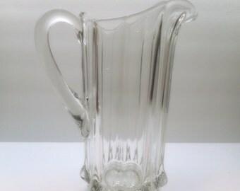 Vintage Crystal Pitcher