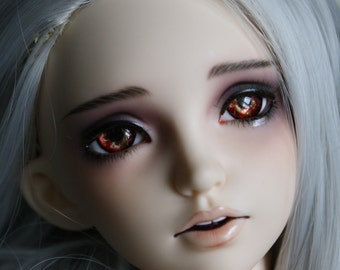 BJD eyes Doll eyes Hand made available in 12/14/16/18/20/22/24mm Brandy Apple made to order