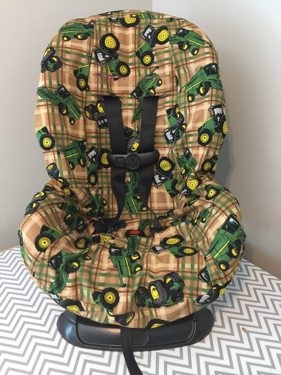 John Deere Car Seat Covers : Ready to ship tractors toddler car seat cover made with john