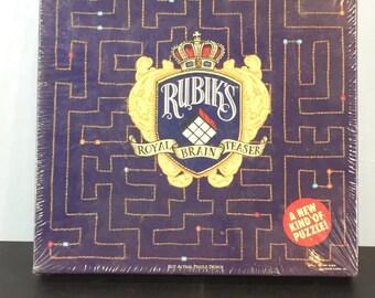 Vintage Rubiks Royal Brain Teaser puzzle, Erno Rubiks puzzle, Hallmark Cards puzzle,  puzzle