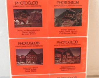 Swiss Chalet Photo Slides projector ephemera
