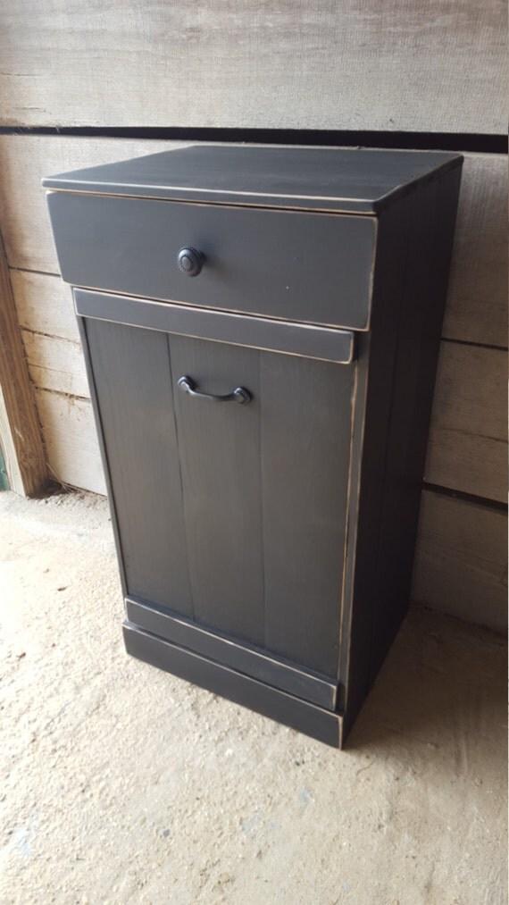 Tilt Out Trash Bin Kitchen Trash Can Wooden Trash By