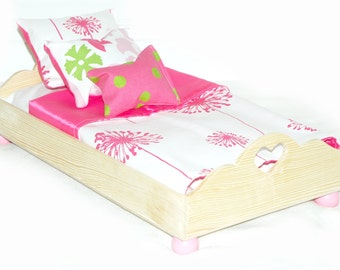 Doll Bed - Make A Wish - Fits 18 inch dolls and AG dolls - American Girl Furniture