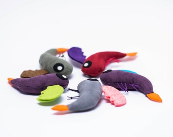 Mythical Dragon Shrimp Cat Toy - Filled with Organic Catnip