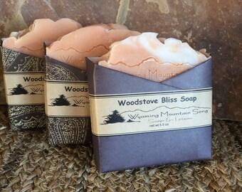 Woodstove Bliss Soap
