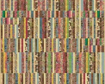 Color Daze - Saddle Quilt Pattern by Edyta Sitar for Laundry Basket Quilts