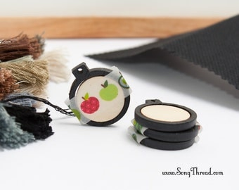 Black Mini Embroidery Hoop 1 Inch