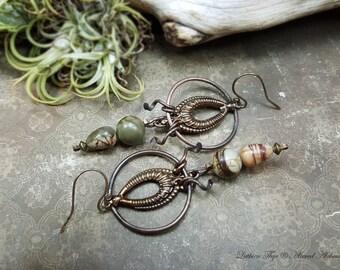 Embracing Asymmetry - Art Earrings