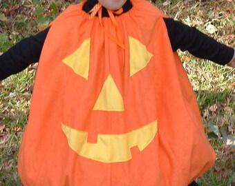 G004    Jack 'O Lantern Pumpkin Halloween Costume Children's Sizes