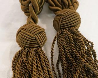 Pair of Vinage European Tie Back Tassels