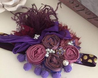Purple glaze cozette couture made to match matilda jane fall 2016