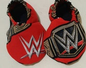 WWE baby shoes