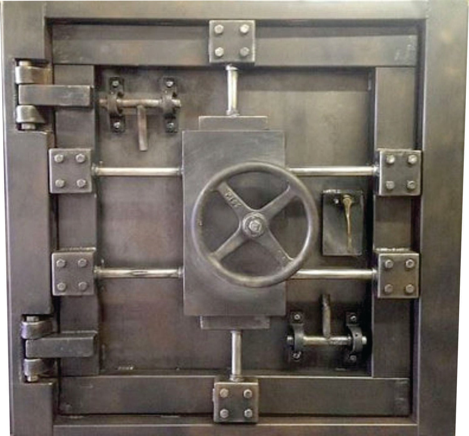 Custom Vintage Look Industrial Vault Door 027s