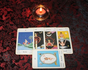 5 Card Tarot Reading / Tarot Card Spread ~ Intuitive Empathic Readings