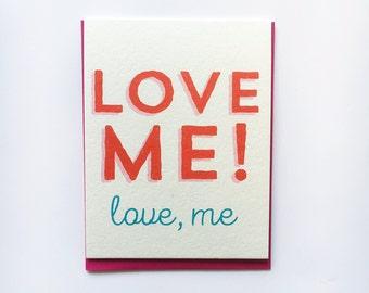 LOVE ME! Awkward Love Card