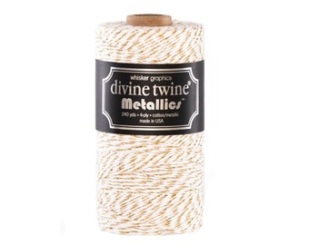 NEW***Gold Metallic Divine Twine (240 yds)