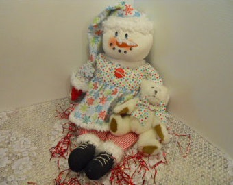 Christmas, WINTER, Snow Doll, Snow Belle
