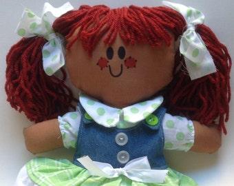 LillieGiggles RagDoll special SchoolGirl Collectors Edition Brown Baby Ragdolls