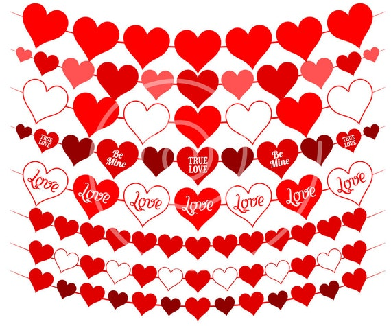 Heart clipart Valentines Day clipart Love clipart Valentine
