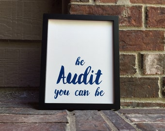 "8""X10"" Be audit you can be Hand Inked onto Wrapped Canvas"
