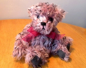 Artist Mohair Bear - 50% Off List Price with Coupon Code - Collectors Bear - 8 inch Bear - Made for Pud Bears - Rufus