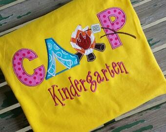Custom Camp Kindergarten School Shirt