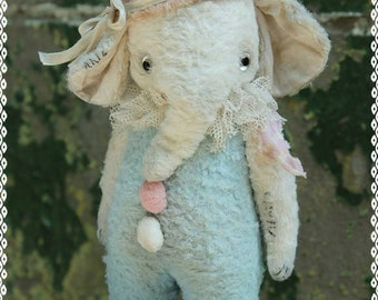Sewing Pattern For 7 inch Vintage Style Elephant