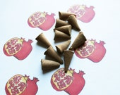 Pomegranate Scented Cone Incense - Incense Cones - Aromatherapy - Aroma - Essense - Home Decor - Gift for Adults
