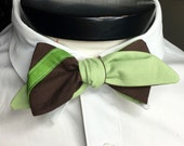 The Walt- Our Disney Themed Bowtie in Yoda Colors