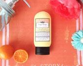 Best Orange Facial Moisturizer - Handmade Cream with Natural Orange Peel Wax