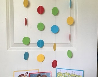 TOY STORY Birthday Party Hanging Garland