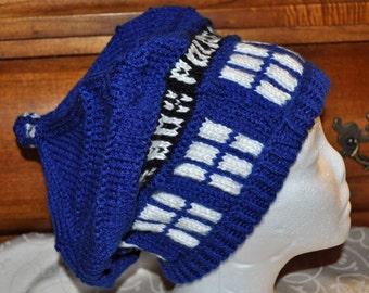 Doctor Who Inspired TARDIS Hat