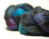 Cashmere Silk in Tropical Butterfly II - One of a Kind