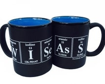 Unique Periodic Table Cup Related Items Etsy