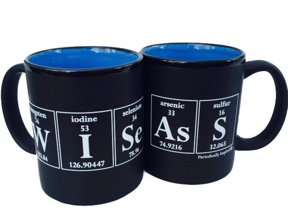 Wise Ass Periodic Table Coffee Mug By By Periodicallyinspired