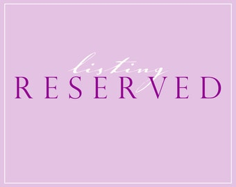 Reserved for Cynthia. Swiss Satin Ribbon